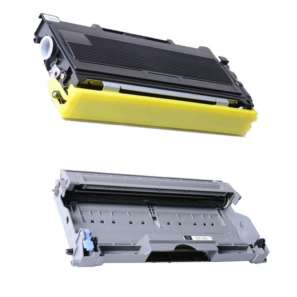 3PK TN350 Toner 1PK DR350 Drum Unit for Brother MFC 7220 7420 7225N 7820D