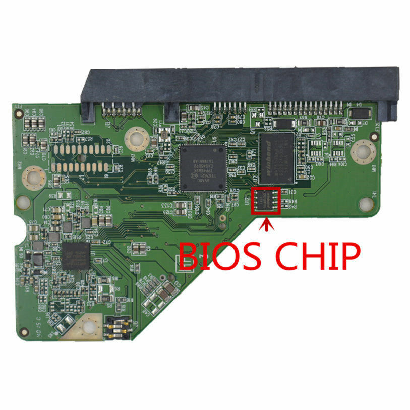 For WD2500BMVV WD3200BMVV WD5000BMVV WD5000KMVV HDD PCB 2060-701675-004 REV A//P1
