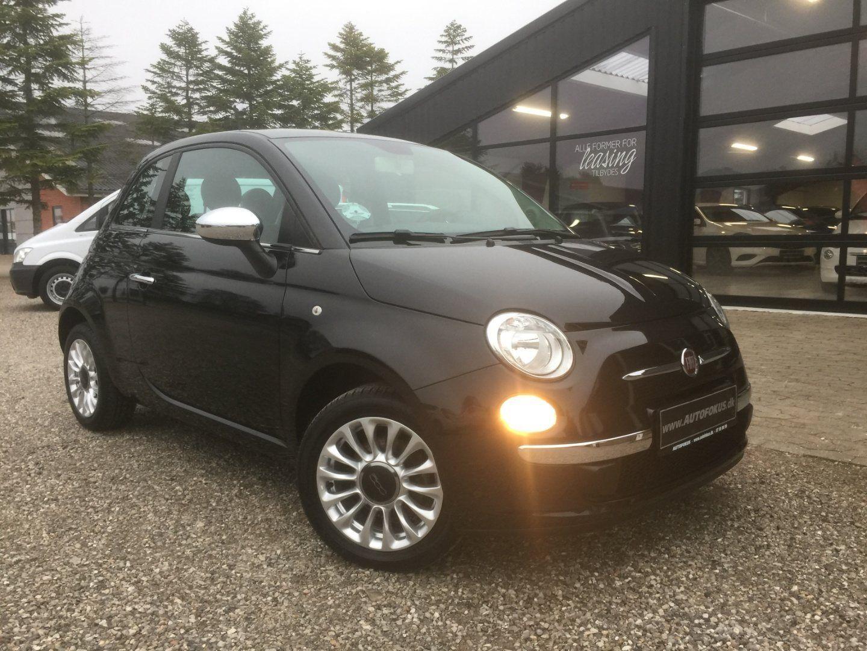 Fiat 500 1,2 Popstar 3d - 76.780 kr.