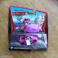 Disney PIXAR Cars 2 MARY ESGOCAR #49 diecast KMART COLLECTOR DAY 9 barmaid pink