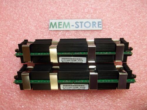 MA970LL//A MB052LL//A 2x2GB FB-DIMM Apple Mac Pro 800MHz PC2-6400 Memory