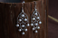 thumbnail 7 - B11-Oriental-Earrings-White-Freshwater-Pearls-And-Sterling-Silver-925