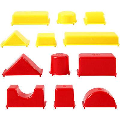 Geometrische Formen Größe 3,5-9,5 Cm FüR Schnellen Versand 12sort Sparsam Sandförmchen