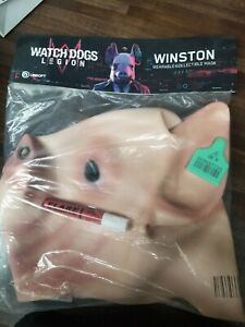 E3 2019 Exclusive Watch Dogs Legion Winston Pig Mask Free Shipping Ebay