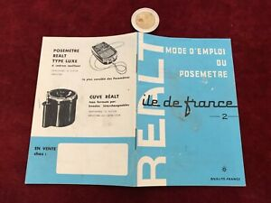 Aimable Ancien Catalogue Brochure Matériel Photo N 24 Realt Blanc De Jade