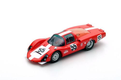 S5421 Spark:1/43 Porsche 906 LH  55 5TH 24H Daytona 1967  D.Spoerry-R.Steinemann