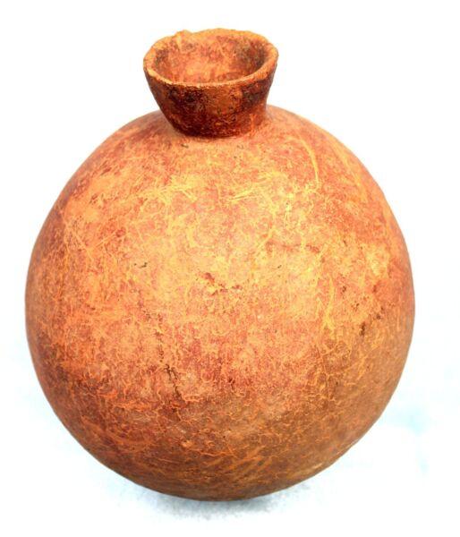 100% De Calidad Arte Africana Arts Primeros Arqueología - Alfarería Bura En La Base - 18 Cm