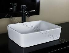 Bathroom Ceramic Vessel Sink With Oil Rubbed bronze Faucet & Drain 7050E3