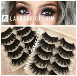 TOP-DEAL-3-5-Pairs-3D-Mink-Fur-lashes-10-pairs-Iconic-Eyelashes-USA-SELLER