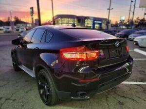 2010 BMW X6 black edution