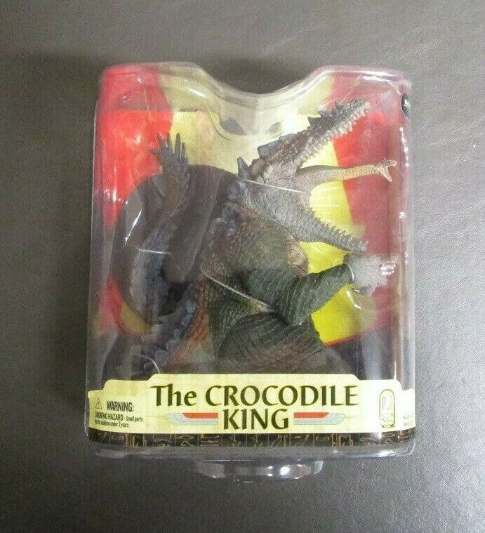 Le Crocodile King Series 33 SPAWN MCFARLANE TOYS Âge des pharaons Comme neuf IN BOX GV