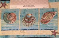 Tapestry Placemats Set Of 4 Seashells Starfish