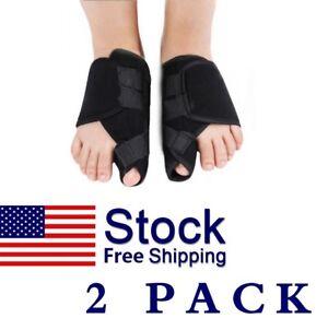 2PCS-Big-Toe-Bunion-Splint-Straightener-Corrector-Foot-Pain-Relief-Hallux-Valgus
