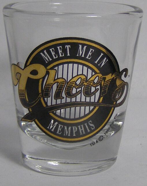 Meet Me In Cheers MEMPHIS Shot Glass #3081