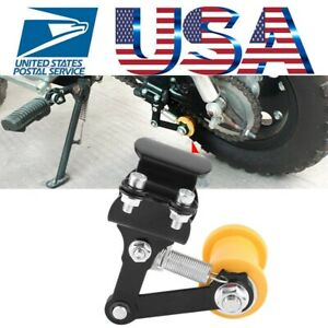 Adjuster-Chain-Tensioner-Bolt-On-Roller-Motorcycle-Modified-Accessories-Tool-NEW