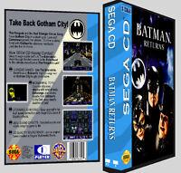 Batman Returns - Sega Cd Reproduction Art Dvd Case No Game