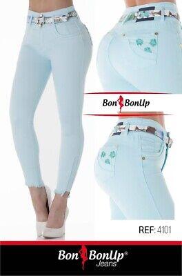 Jeans colombianos butt lifter fajas colombianas levanta cola Bon Bon Up 5213