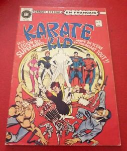 Soft-Cover-French-Heritage-Comic-Karate-Kid-No-1