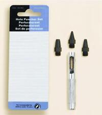Perforatorset / Hole Puncher Set Eyeletgerät für das Anbringen von Eyelets Ösen