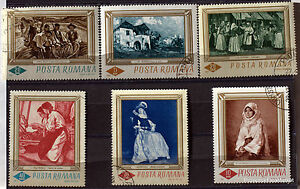 Romania-Paintings-Painter-Pack-Stamps-78M15