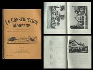 La Construction Moderne - N°46 - 1927 - Saint Germain En Laye, Cite Jardin Et Aide à La Digestion