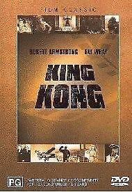 King Kong : DVD  - Robert Armstrong, Fay Wray - Free Post!