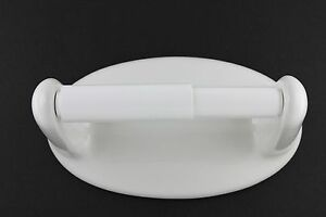 Classic White Ceramic Toilet Paper Holder Lenape Item No