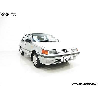 A Time Warp Nissan Sunny 1.6GSX with an Incredible 11,504 Miles From New