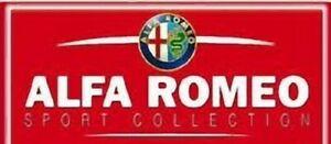 ALFA ROMEO SPORT COLLECTION SCEGLI DAL MENU A TENDINA