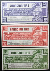 CANADIAN-TIRE-3-X-BANKNOTES-5-CENTS-2014-10-CENTS-2003-25-CENTS-1992