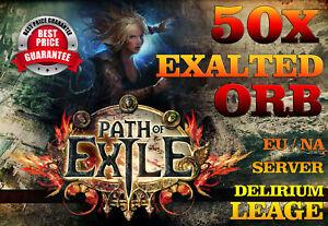 Path of Exile 50 x Exalted Orb Delirium League Softcore EU ...