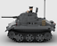 INSTRUCTIONS ONLY German Panzer II Luchs WWII Tank Custom LEGO MOC