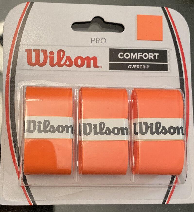 Wilson Pro Overgrip Comfort -New 3 Pack Yellow