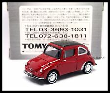 TOMICA LIMITED TL BEST Subaru 360 1/50 TOMY DIECAST 21 RED  NEW