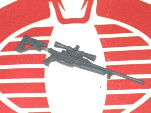 GI Joe Weapon Sniper Rifle Gray Original Figure Accessory #0522