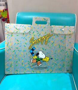 Cartella Snoopy Vintage Per Scuola