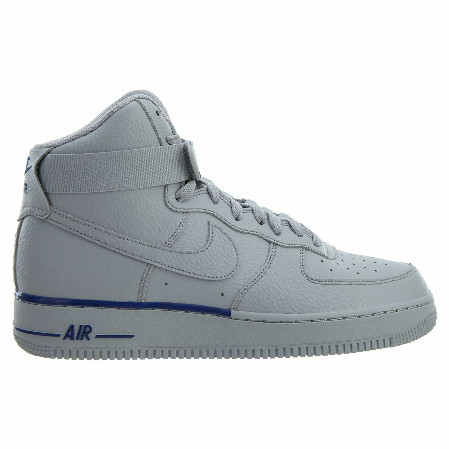 Nike Air Force 1 High '07 Uomo 315121-045 Wolf Grey Deep Royal Shoes Size 9