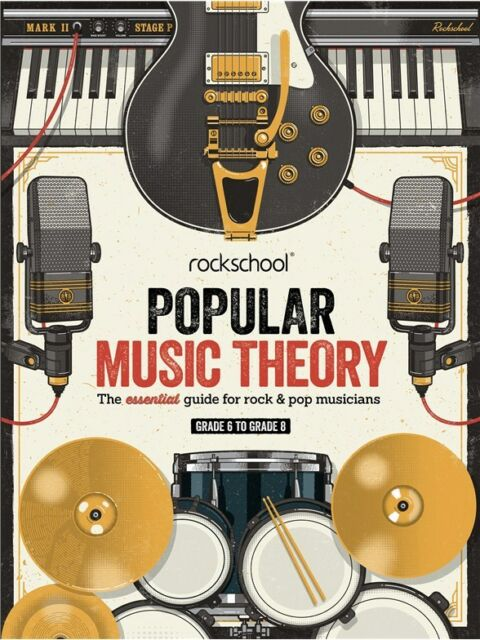Rockschool Popular Music Theory Guide - Grades 6-8