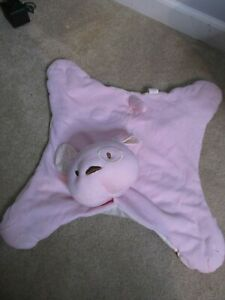 Gund Naturally Pink Puppy Dog Baby Security Blanket Lovie ...