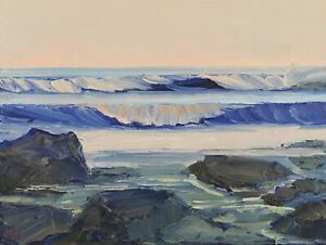 CALM-PACIFIC-Original-Expression-Seascape-Ocean-Oil-Painting-14x18-032319-KEN