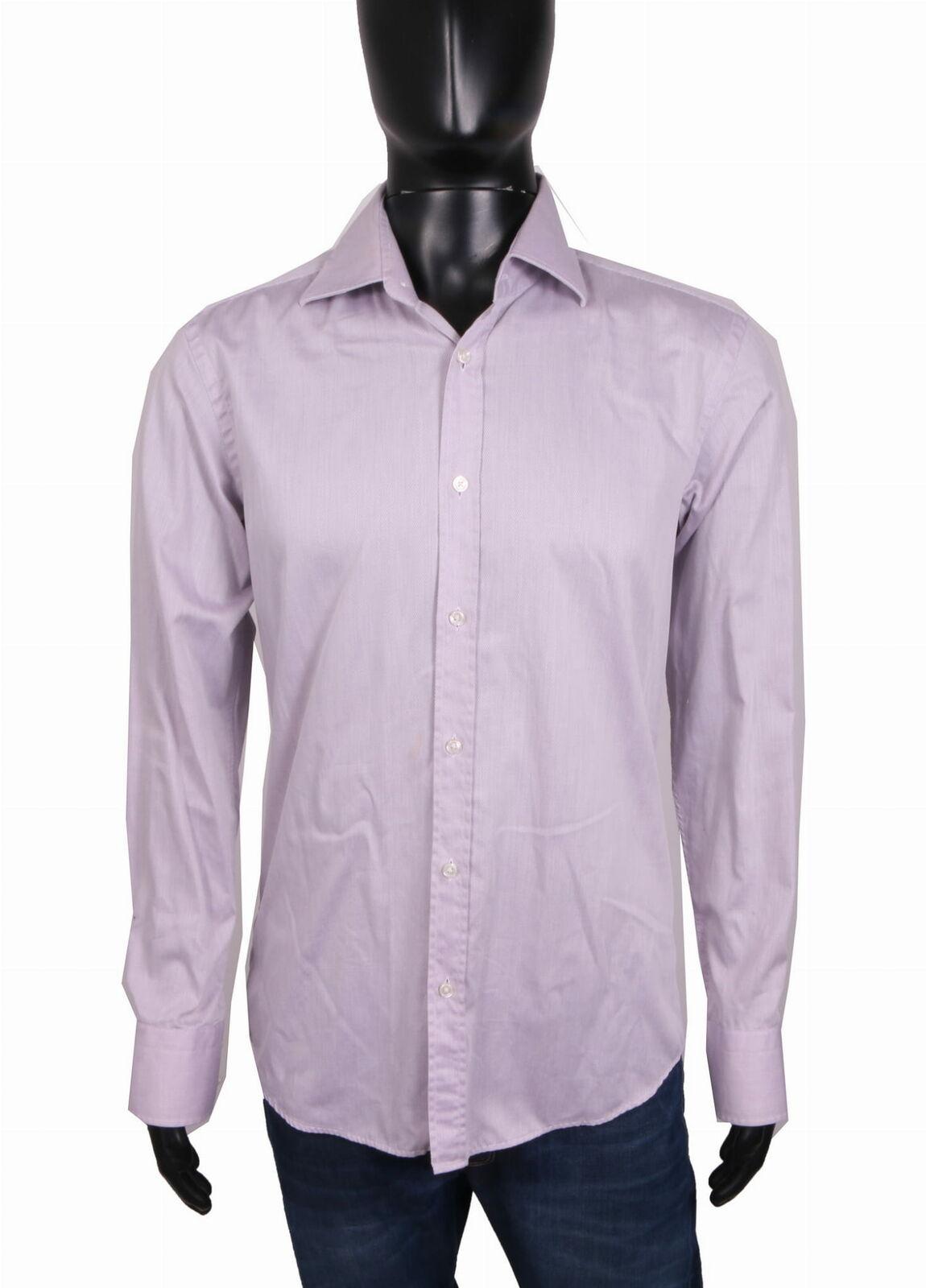 46ab232c Boss Shirt Tailored Cotton size 40 Hugo Mens nvdudq3215-Casual ...