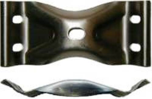S-2771 16 GAUGE STEEL TABLE LEG CORNER BRACKET SINGLE BRACKET ONLY
