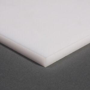 NYLON-6-6-Sheet-NATURAL-Plate-Engineering-Plastics-66-NYLON66-White