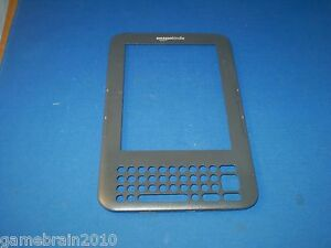 Replacement OEM Front Frame for Amazon Kindle Keyboard WiFi//3G!!