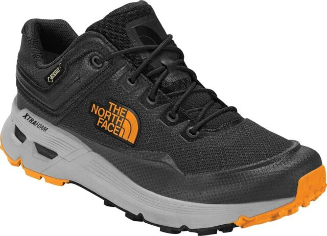 25433186b The North Face Safien GTX Hiking Shoe (Men's) in Ebony Grey/Zinnia Orange -  NEW