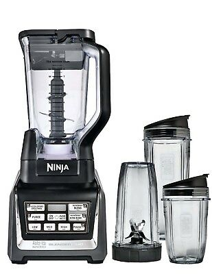 Nutri Ninja Ninja Blender Duo with Auto-iQ (BL642) (Certified Refurbished)