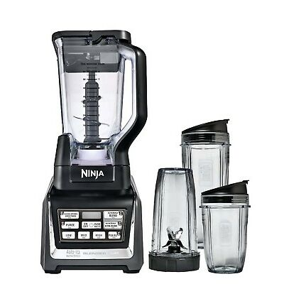 Nutri Ninja Ninja Blender Duo with Auto-iQ (BL642) (Certified Refurbished)