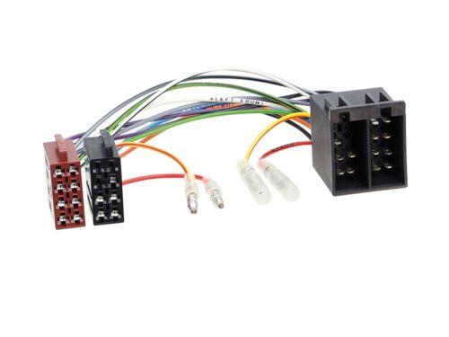 Alfa 147 937 00-10 2-din radio del coche Kit de integracion adaptador cable radio diafragma antracita