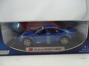 1-18-Motormax-Saleen-Sr-Blue-Rareza