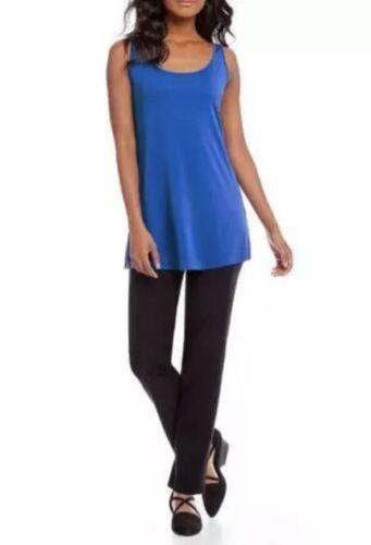 NWT Eileen Fisher Catalina Stretch Silk Jersey Scoop Neck Women/'s Tunic